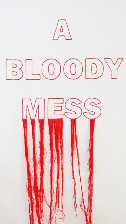 35 Bloody mess (detail)